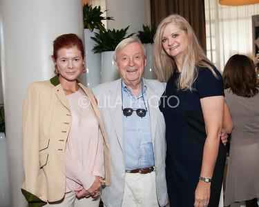 Lady Foster, Gil Maurer, Janine Mayville