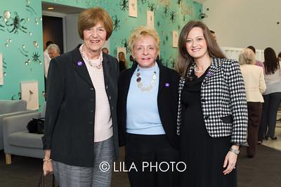 Betsy Vaughan, Janice Stearns, Idalia Baudo
