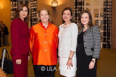 Sandra Fuentes, Hope Alswang,  Eileen Minnick, Idalia Baudo with BMO