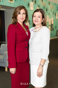 Sandra Fuentes of BMO,  Eileen Minnick of BMO.