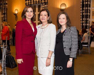 Sandra Fuentes , Eileen Minnick , Idalia Baudo with BMO
