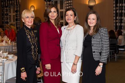 Willa Spivak, Sandra Fuentes , Eileen Minnick , Idalia Baudo with BMO