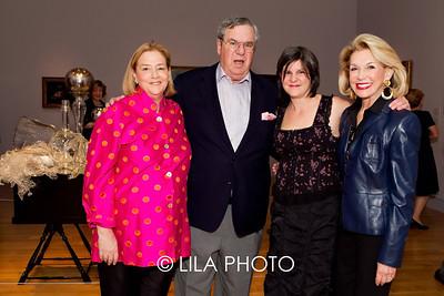 Hope Alswang, J. Ira Harris, artist, Beth Lipman, Nicki Harris