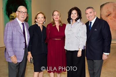 Larry & Mickey Beyer, Jenny Saville, Lisa Tananbaum, Tony Beyer