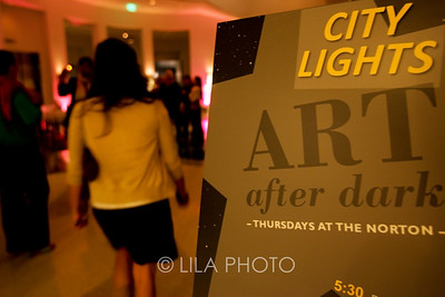 Art after Dark at the Norton Museum.