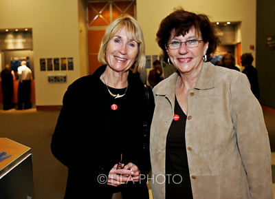 Art after Dark at the Norton Museum. Evelyn Bartley and Shirley Stuart.