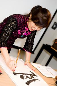 Calligraphy Teacher - Louisa Perolio