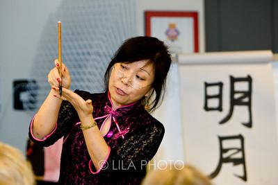 Chinese and Calligraphy Teacher - Louisa Perolio