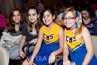 L-R: Olivia Whitton, Alexis Rentz, Amber Citron, Cheryl Portz
