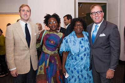 Charles Poole, Delphine Fawundu, Maria Valcarcel, Bruce Langmaid