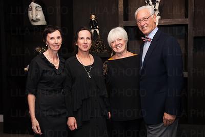 Cheryl Brutvan,  Klara Kristalova, Mary Lou Dauray, Alan Davis