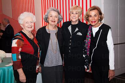 Joan Heller, Mary Louise Schwab, Fredda Butowsky, Alice Rudin