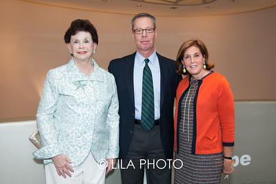 Sandy Krakoff, Jerry Dobrick, Barbara Rothschild