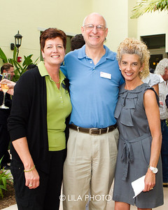 Mary Jagim, Gary Lundberg, Rita Lowe with Palm Health Partners