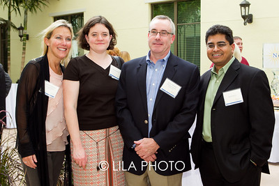 Dania Nussbaumer, Gretchen Weaver, Kevin Dempster, Rushi Patel with Millenium Pharmacy Systems