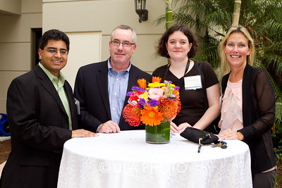 Rushi Patel, Kevin Dempster, Gretchen Weaver, Dania Nussbaumer with Millenium Pharmacy Systems