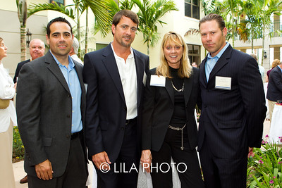 Michael Remis, Jonathan Fedele, Maria Alba, Steve Lica with Activa Home Health