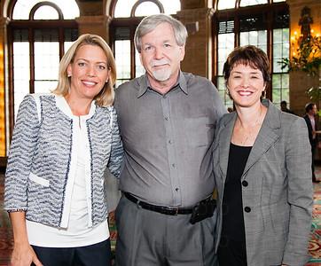 Rachel Docekal, Dr. Brian Moore, Lilly Davenport
