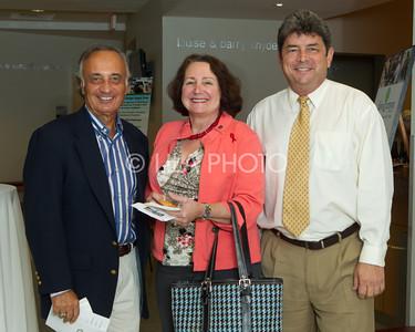 Ray Liberti, Commissioner Sylvia Moffett, Alex Stevens
