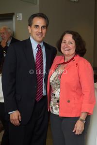 Perry Borman, Commissioner Sylvia Moffett