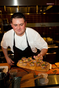 Chef James Petrakis of the Ravenous Pig in Winter Park, FL;  Michael Pisarri / LILA PHOTO; Michael Pisarri / LILA PHOTO