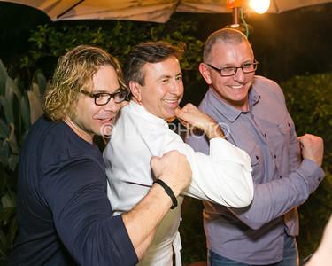 "Eric ""The Trainer"" Fleishman, Daniel Boulud, Robert Irvine"