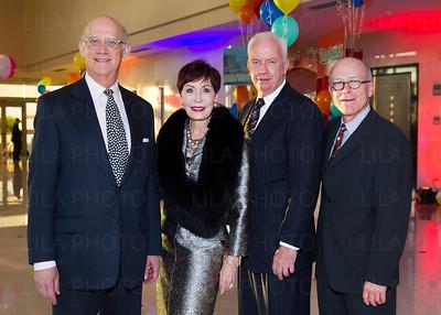 Irvin Lippman, Peg Greenspon, Walter O'Neill, Bill Harkins