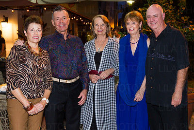 Kathy & Ted Leverette, Edie Reed, Angie & Gregg Fightmaster
