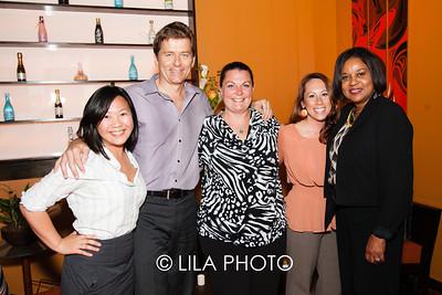 Ivy Wong, Christophe Dagassan, Stacia Wiens, Liz Spicer, Eda Ruddock of the Breakers