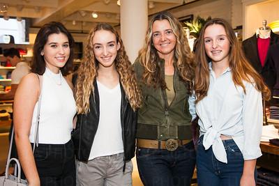 Alexis Metz, Grace Pettee, Heidi Pettee, Olivia Pettee