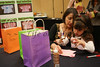 Lauren Baylin and 5-year-old Anna Baylin create a T shirt for Anna's doll at the Girls and Dolls event at the Crowne Plaza Ravinia on Sunday, Dec. 6, 2009.  Nails, hair, doll day care, photos, shopping and fashion show.  Sponsors include Gap, Davis Academy, Vibe, Balance hair  studio.