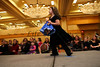 Amalia Haviv, 6, takes to the catwalk with her doll Lilly in the Girls and Dolls' fashion show at the Crowne Plaza Ravinia on Sunday, Dec. 6, 2009.  Nails, hair, doll day care, photos, shopping and fashion show.  Sponsors include Gap, Davis Academy, Vibe, Balance hair  studio.