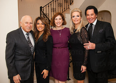 Lou & Deborah Porreco, Amy Mauser, Kathleen & Wayne Newton