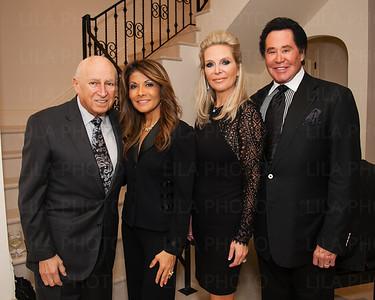 Lou & Deborah Porreco, Kathleen & Wayne Newton
