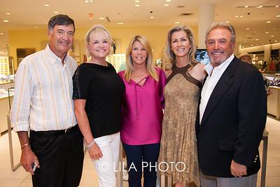 Phil & Terri Ameen, Helen Esposito, Ansley & Philip Di Leo