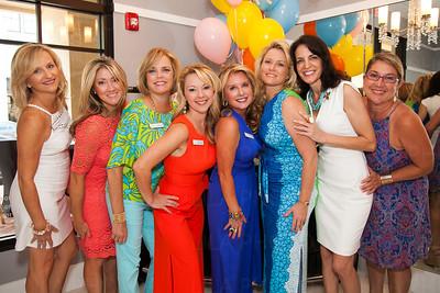 Tracy Cleveland, Lisa Kaplan, Lisa Priester, Sharon McEnroe, Julie Hopper Thomas, Heather Neville, Erin Rudder, Jane Letsche