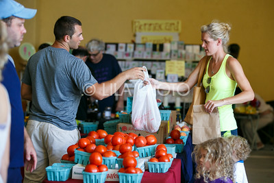 The Summer Gardens GreenMarket at STORE Sunday.