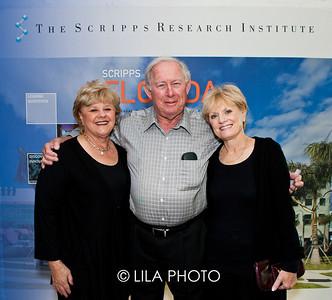 Linda Friedman with Mel and Helene Shutor.