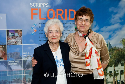 Peggy Werner and Frances Aaron