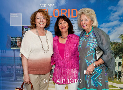 Sandie Donnabend, Maria Curtis, and Judy DelCol