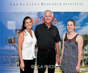 Deb Whitmand, Ed Fitts, and Christine Crumbley