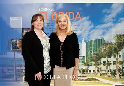 Dr. Patricia McDonald and Nancy Hart