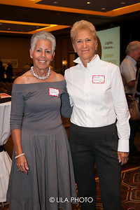 Elaine Solomon, Barbara Sedransk  - co chairs of the event