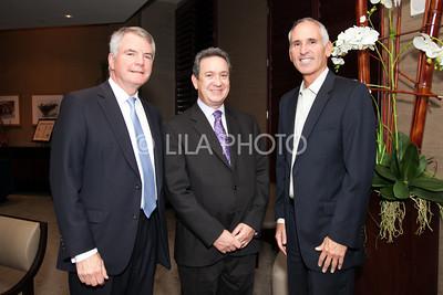 David McAuliffe, Scott Berger, Irving Geffen