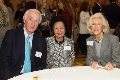 Bill Boyan, Hiroko Nakamoto, Gail Boyan