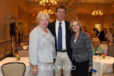 Ellen Tansey, Dr. Ron Davis, Suzanne Holmes