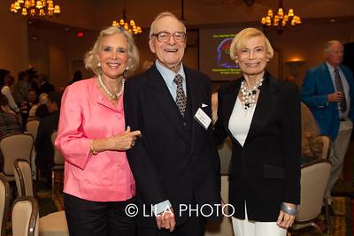 Beth Casey, Dr. Harry Horwich, Bobbi Horwich