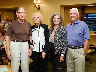 Maurice & Ruth Epstein, Jannette & Melvin Edwards