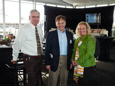 Michael O'Dell, Dr. Chris Evans, Cindy Anderson