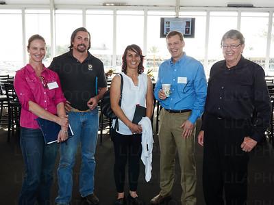 Dr. Erin Shields, Dr. Weston Davis, Dr. Sarah Puchalski, Dr. Dave Frisbie, Wayne McIlwraith